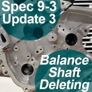 Saab 9-3 Balance Shaft Delete