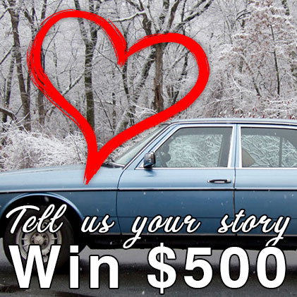 Tell Us A Car Love Story and Enter To Win $500!