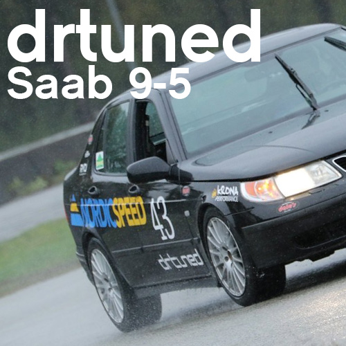 The drtuned Racing Saab 9-5 Is Coming Together