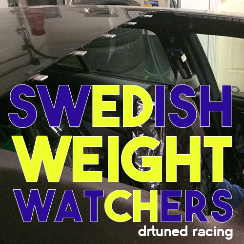 Swedish Weight Watchers – The Drtuned Saab 9-5 Gets A Sunroof Delete