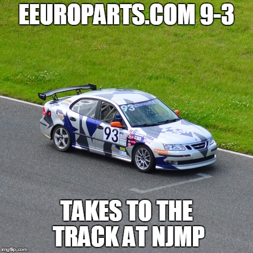 eEuroparts.com Saab 9-3 Succeeds at NJMP