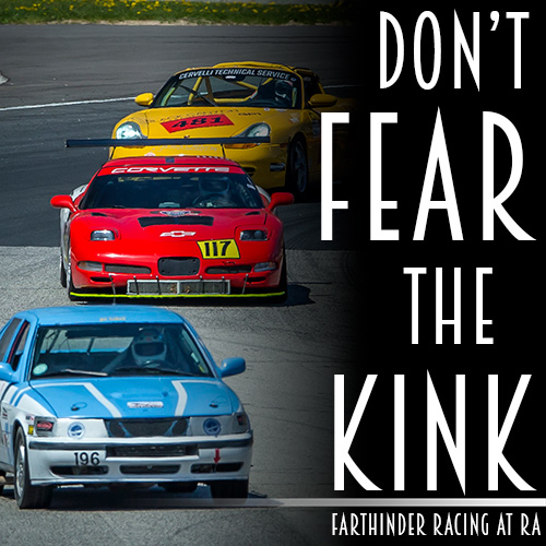 Fart-hinder Racing Saab meets 'The Kink' and survives.