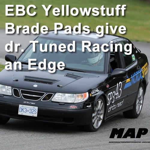 EBC Yellowstuff Brake Pads give drtuned Racing an Edge