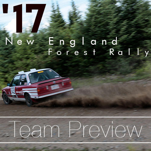 New England Forest Rally 2017 – It's Almost Time