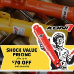 Koni Shock Value Pricing