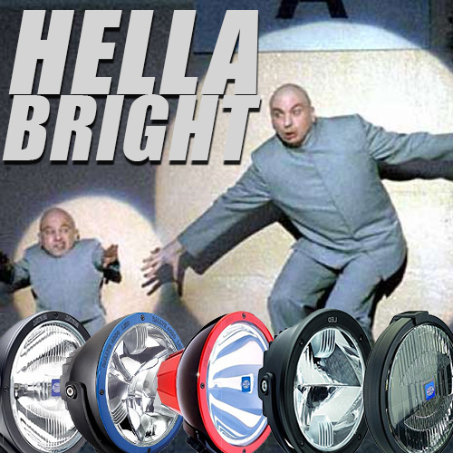 Hella Bright – Huge Catalog Of Hella Off-Road Lights Recently Added