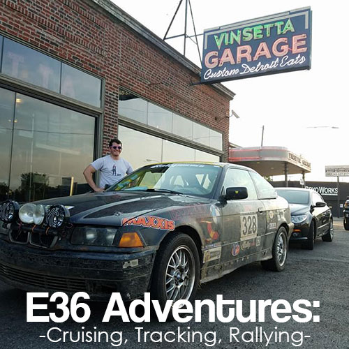 E36 Adventures: Cruising, Tracking, Rallying
