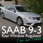 Saab 9-3 Window Regulator