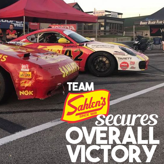 Team Sahlen's Porsche Cayman secures OVERALL victory at Mid Ohio