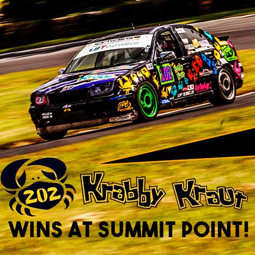 #202 Krabby Kraut finally prevails at AER Summit Point 2017
