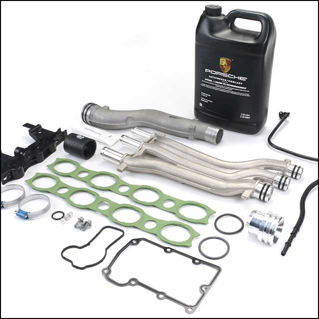 Porsche Cayenne Cooling Pipe Kit Strengthens Known Weakness in V8 Engine