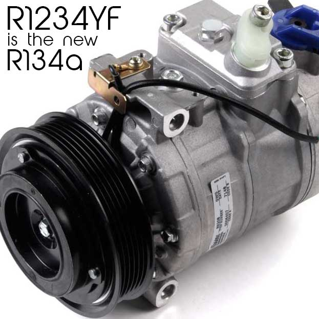 R1234YF, the new AC refrigerant – What you need to know
