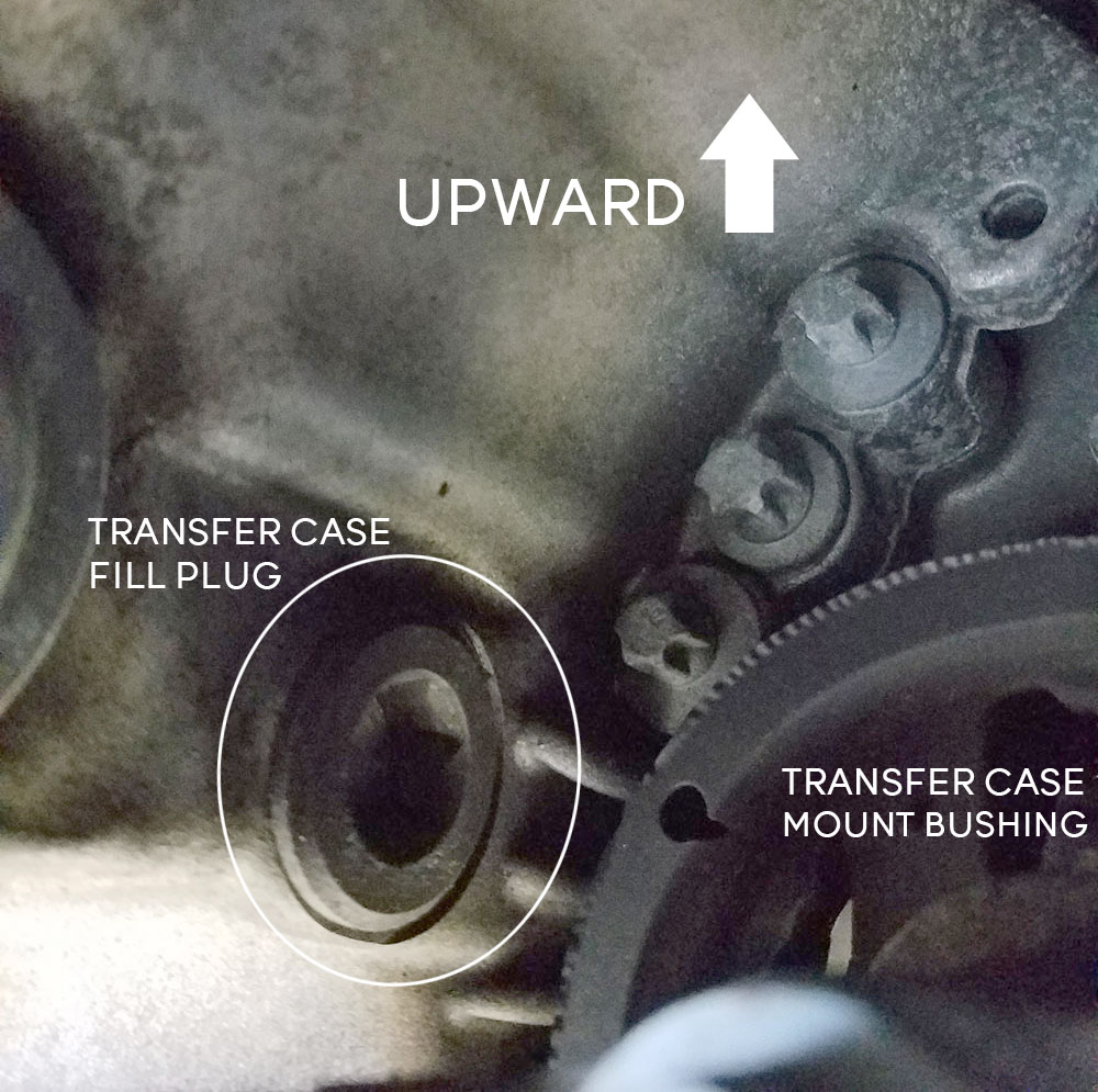 BMW xDrive Transfer Case Fill Plug