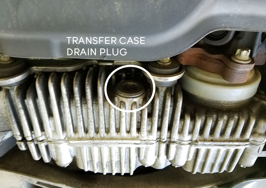 BMW xDrive Transfer Case Drain Plug