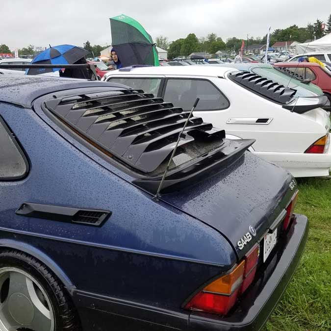 Saabs@Carlisle 2018 In The Rearview