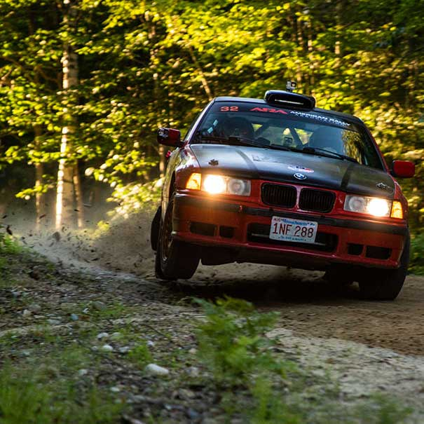 Apogee survives New England Forest Rally 2018 – Day one!