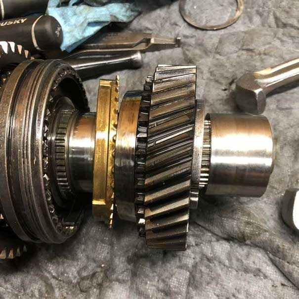 Getrag 260 Synchro Replacement, Part 2: Gear Train