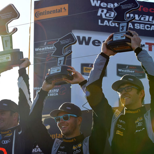 eEuroparts.com ROWE Racing Podiums At Laguna Seca