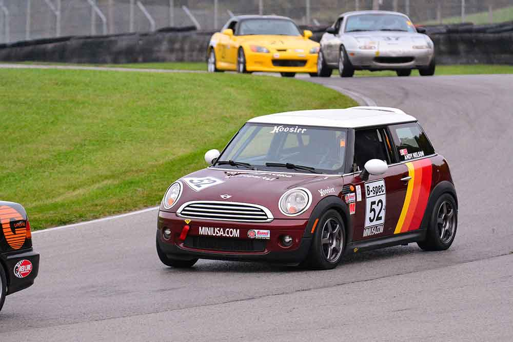 Andy Nelson B-Spec MINI Cooper Mid Ohio