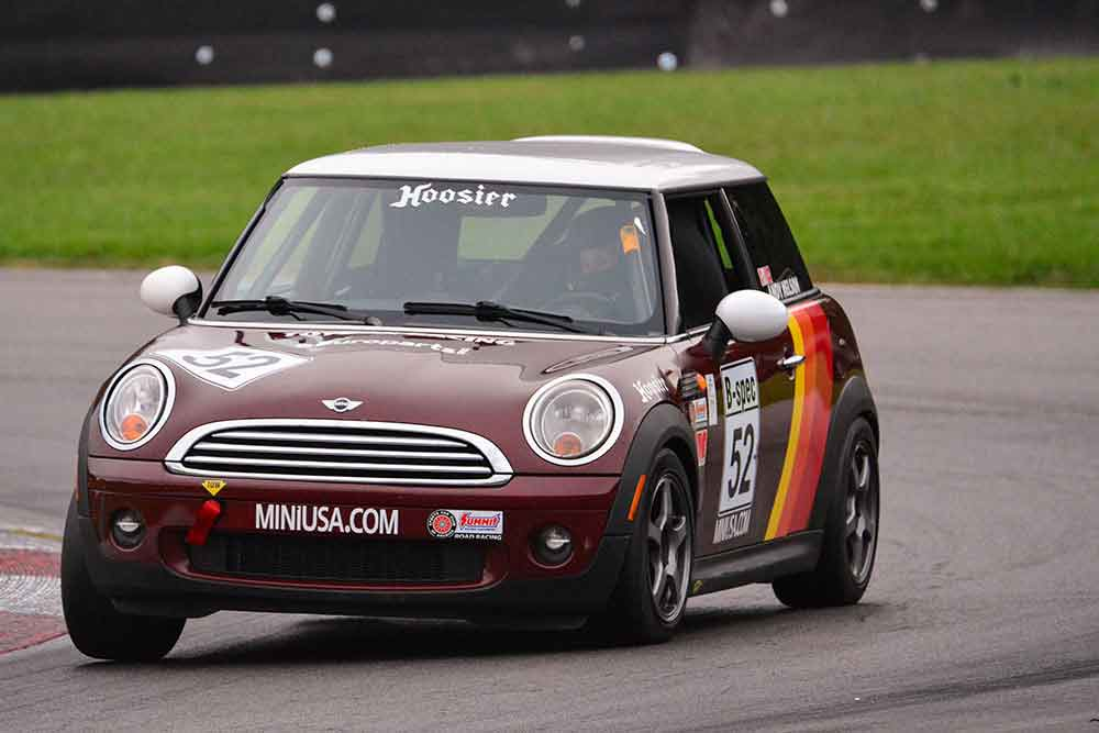 Andy Nelson B-Spec MINI Cooper