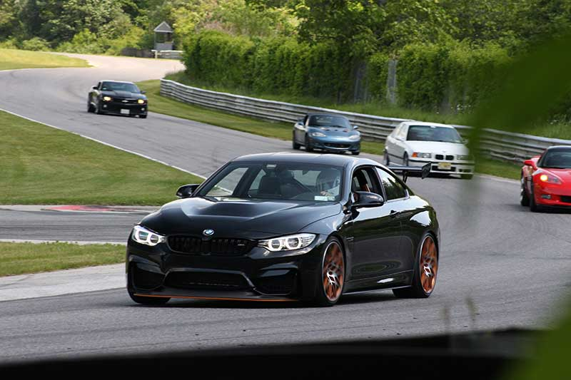 BMW M4 GTS Lime Rock Park