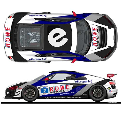 eEuroparts.com ROWE Racing grows to 4 cars, gains GS class entry for 2019