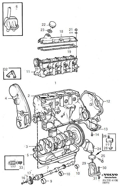 1999 Volvo Engine Diagram
