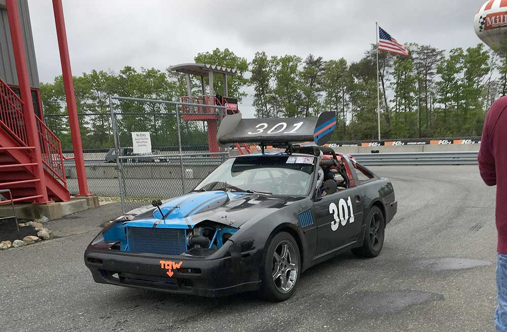 Rust in the Wind Saab Powered Z Car