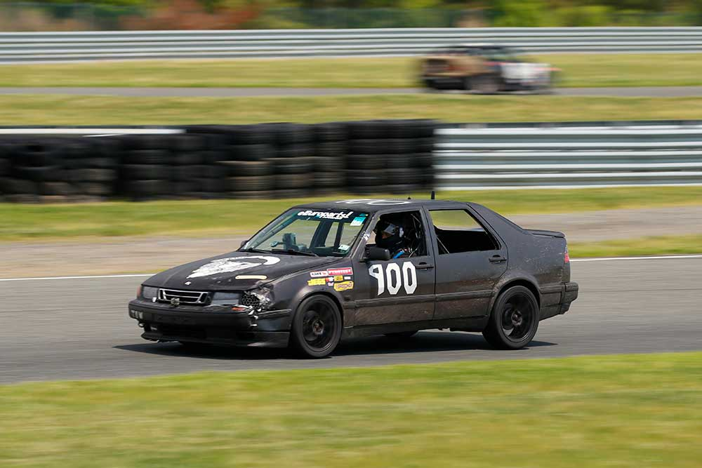 Saabs of Anarchy 9000 Race Track