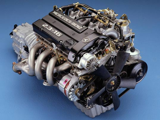 Get To Know An Engine: Mercedes M102 16v Cosworth - eEuroparts com Blog