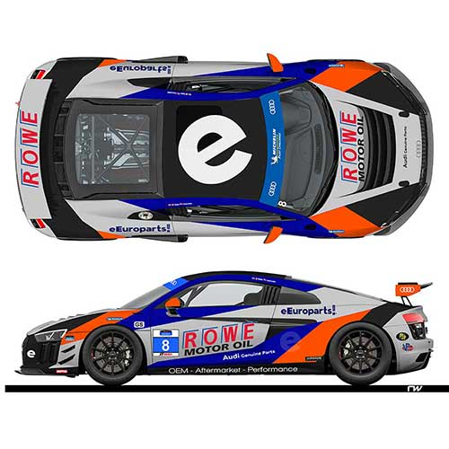 eEuroparts.com ROWE Racing Confirms Second R8 For Daytona