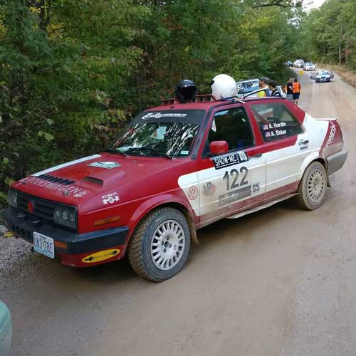 Show-Me MOR: Ecker and Hardin Enter The Missouri Ozark Rally