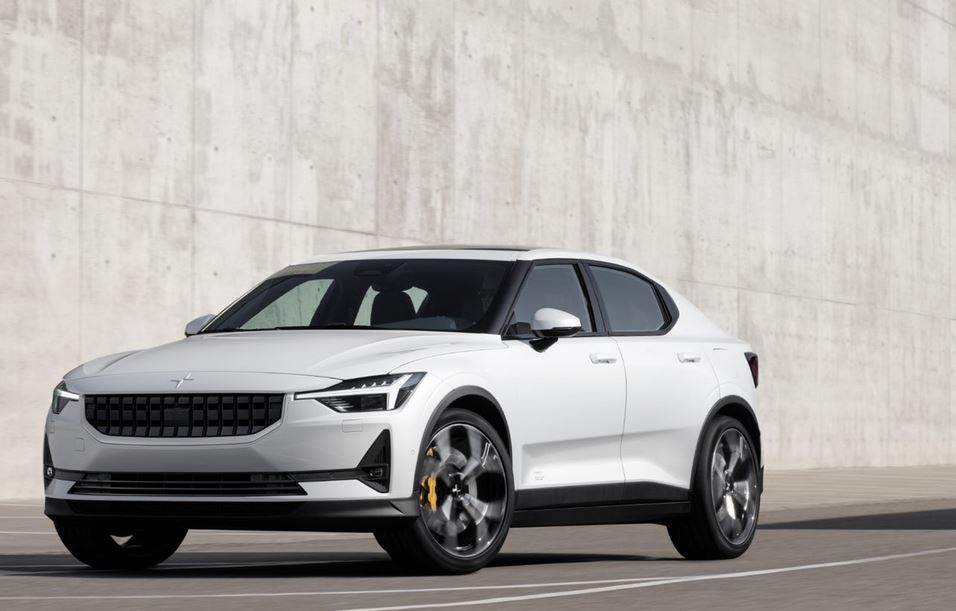 The Polestar 2 is all-electric, and taking aim at Tesla market share. Photo: Volvo