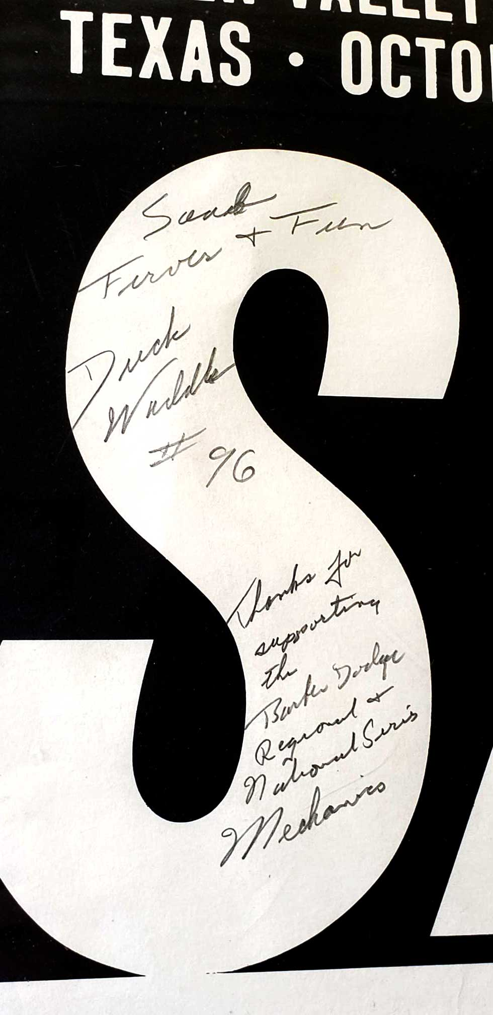 Duck Waddle Signed Poster