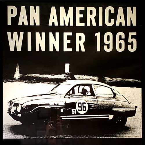 A short story about Duck Waddle and the 1965 Pan American Race