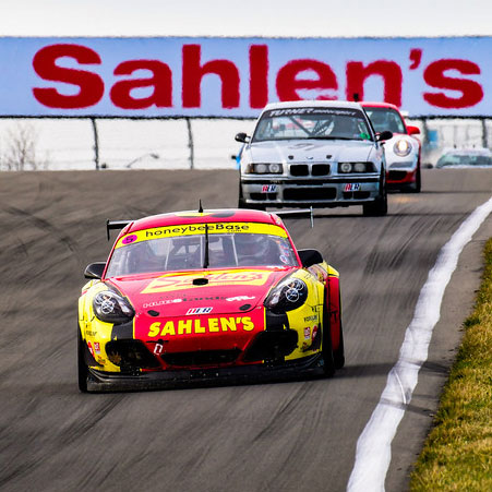 Team Sahlen secures photo finish 1st and 2nd Place at the Sahlen's Sports Car Springfest at the Glen