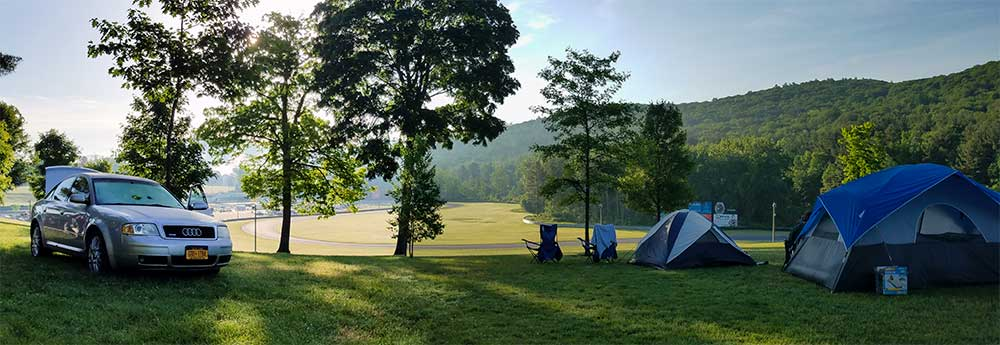 Camping at eEuroFest 2019