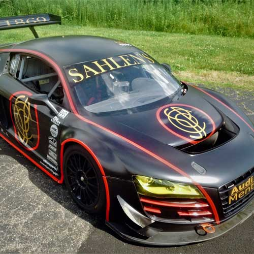 Team Sahlen announces their newest racer: the Audi R8 LMS GT3