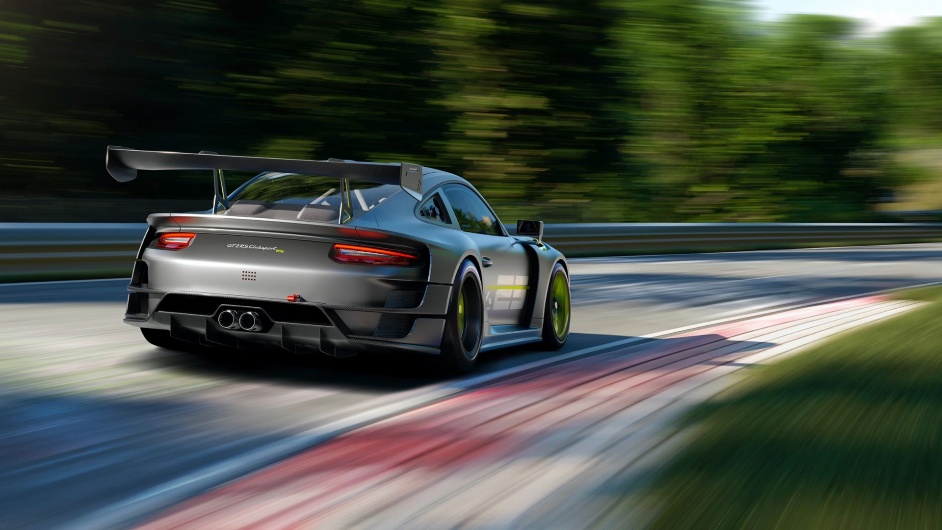 porsche releases 911 gt2-rs clubsport 25 limited edition 1