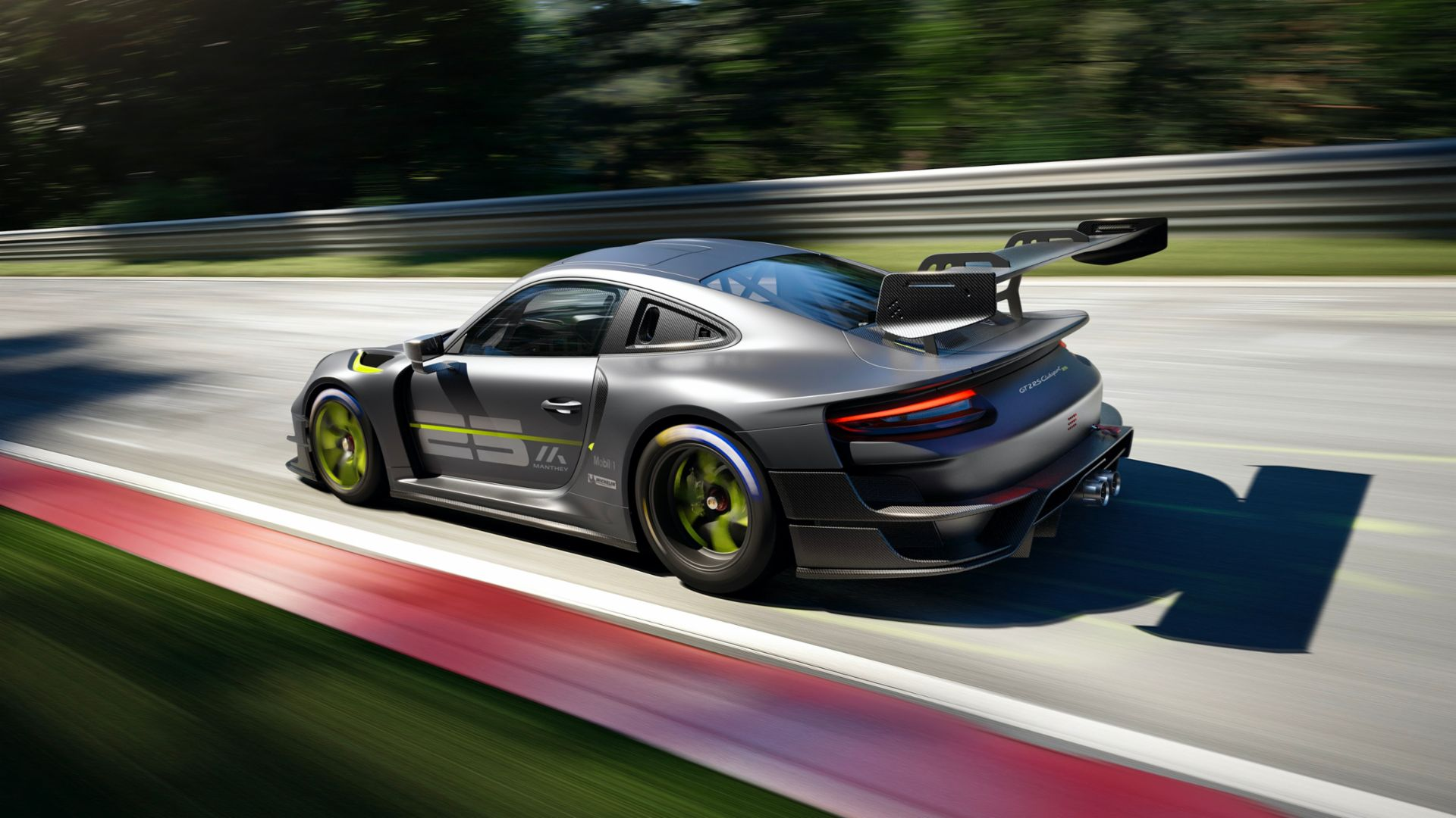 porsche releases 911 gt2-rs clubsport 25 limited edition 3