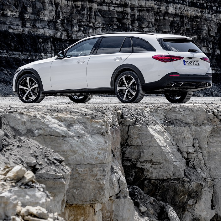 The New All-Terrain C-Class Is Officially On Its Way