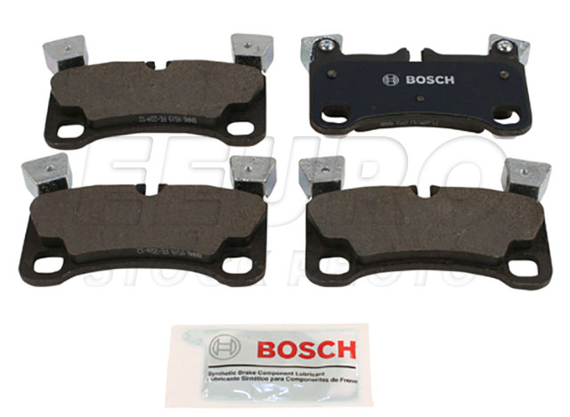 Disc Brake Pad Set - Rear - Genuine Porsche 95535293964