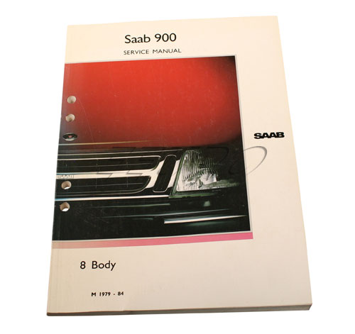 Service manual: Body - Genuine SAAB 0325365