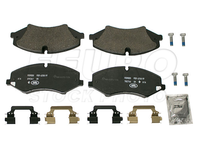 Disc Brake Pad Set - Front - Genuine Land Rover LR026221