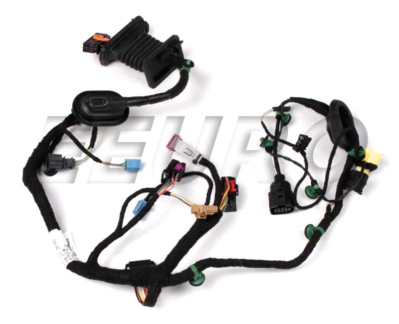 door wiring harness - front driver side 1k5971120t main image