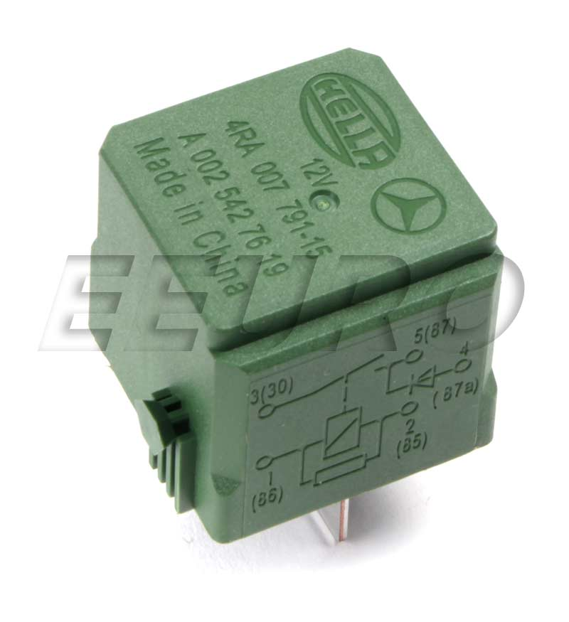 0009828523 Genuine Mercedes Air Compressor Relay Suspension Fast Shipping Available