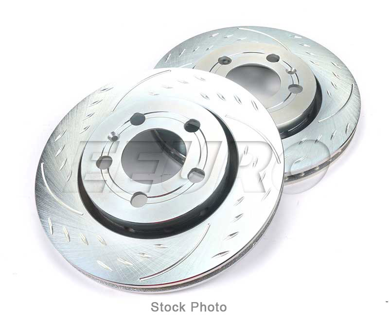 NEW Pair Set of Front Disc Brake Rotors 350mm Genuine 1644211412 For Mercedes