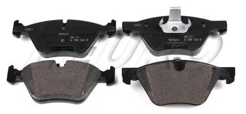Disc Brake Pad Set - Front - Genuine BMW 34116771868