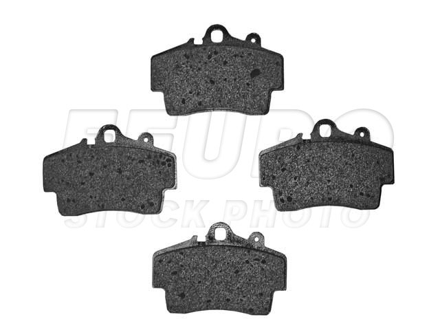 Disc Brake Pad Set - Front - Genuine Porsche 98635193915