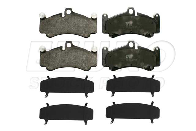 Disc Brake Pad Set - Front - Genuine Porsche 99735194891